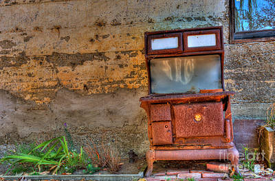 Eyal Photograph - Old Stove by Eyal Nahmias