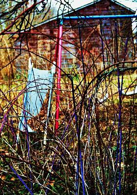 Photograph - Old Swing Set by Todd Sherlock