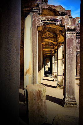 Art Print featuring the photograph Old Temple by Arik S Mintorogo