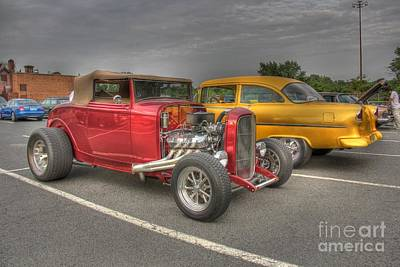 Photograph - Old Time Parking Lot II by Lee Dos Santos