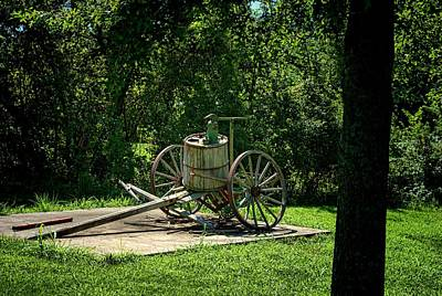 Photograph - Old Time Pump Wagon by Tim McCullough