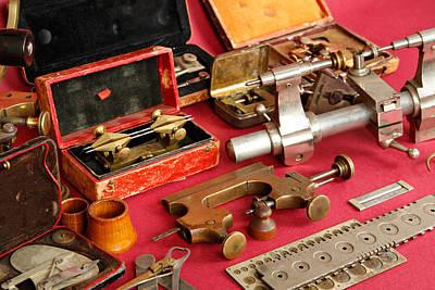 Photograph - Old Tools by Masha Batkova