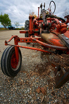 Shelburne Falls Photograph - Old Tractor by Mike Horvath