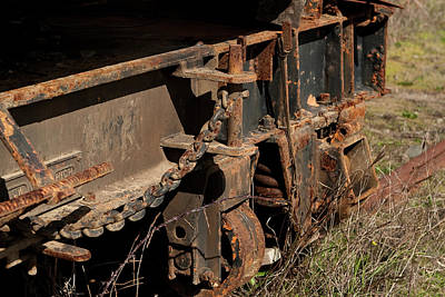 Photograph - Old Train Hitch by Lorraine Devon Wilke