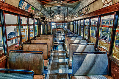 Photograph - Old Trolley 1 by Fred LeBlanc