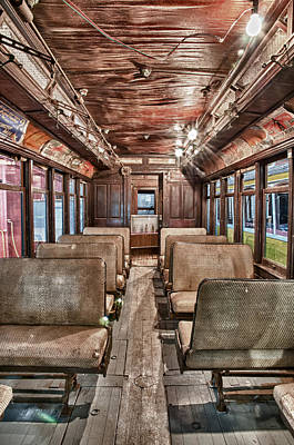 Photograph - Old Trolley 3 by Fred LeBlanc