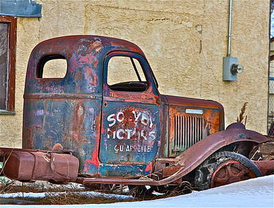 Old Truck Art Print by Johanna Bruwer