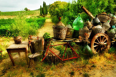 Photograph - Old Tuscany by John Galbo