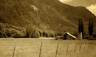 Photograph - Old Valley Farm by Michelle Joseph-Long