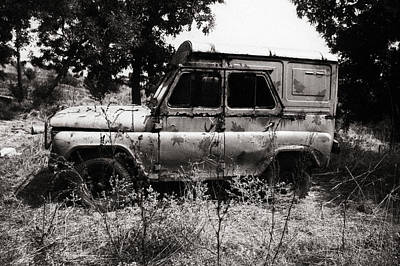 Photograph - Old Van by Cliff Norton