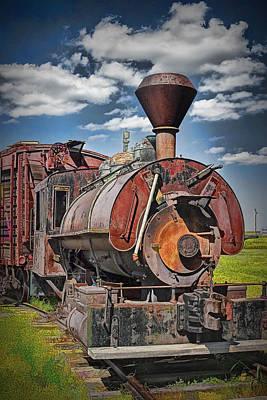 Old Vintage 1880's Railroad Train No.0394.4 Art Print