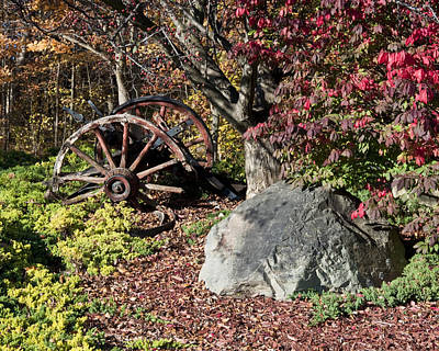 Old Wagon Wheel Original by Paul Cannon