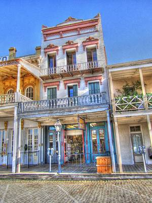 Old West Architecture Art Print by Barry Jones