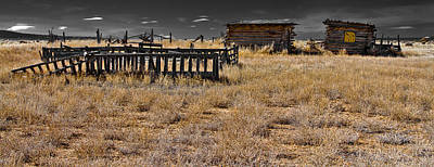 Photograph - Old West by Atom Crawford