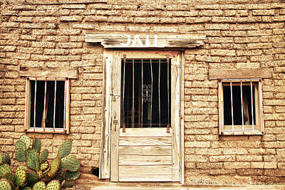 Old Western Jailhouse Art Print by James BO  Insogna