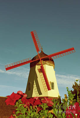 Photograph - Old Windmill  by Paul Topp
