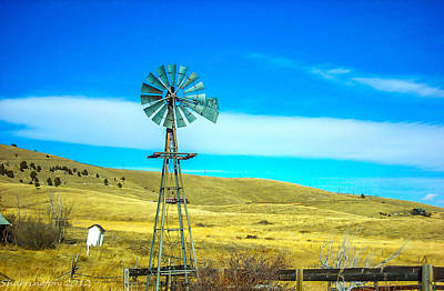 Photograph - Old Windmill by Shannon Harrington