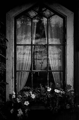 Photograph - Old Window by Micael  Carlsson