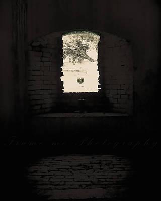 Old Window Art Print by Vanessa Benson