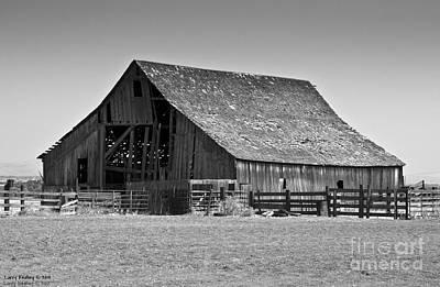 Photograph - Old Wood by Larry Keahey