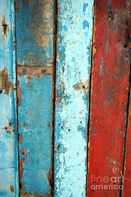 Old Wooden Background Art Print by Antoni Halim