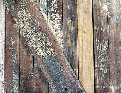 Photograph - Old Wooden Door by Nancy Greenland