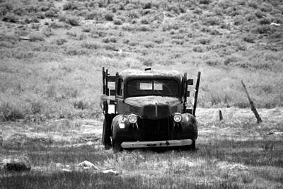 Photograph - Old Work Truck by Michael Courtney