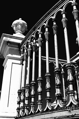 Black Commerce Photograph - Old World Architecture by John Rizzuto