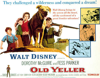 Old Yeller, Kevin Corcoran, Beverly Art Print by Everett