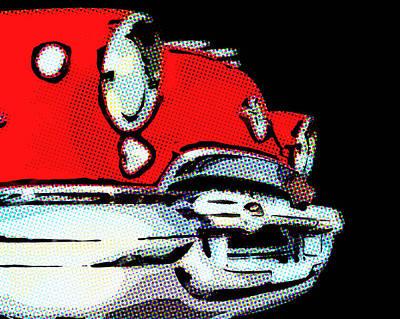 Briex Digital Art - Olds Mobile 1955 by Nop Briex