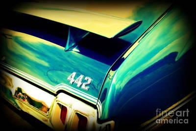 Car Auction Photograph - Oldsmobile 442 by Susanne Van Hulst