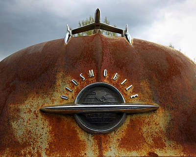 Photograph - Oldsmobile by Steve McKinzie