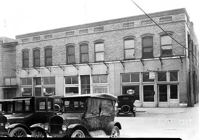 Photograph - Oldtown Square Circa 1930 by Cris Hayes