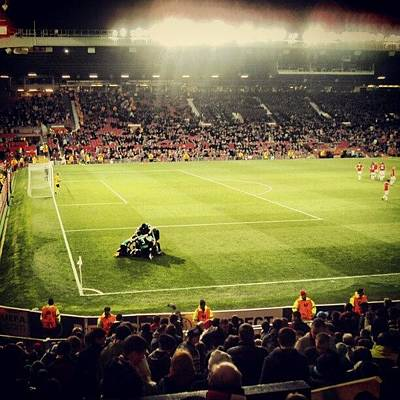 Sports Wall Art - Photograph - #oldtrafford #manchesterunited by Abdelrahman Alawwad