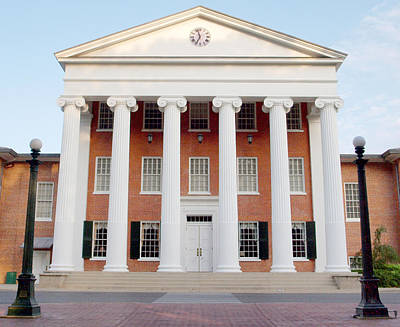 Photograph - Ole Miss Lyceum One by Joshua House