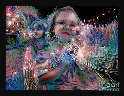 Digital Art - Olive And Lola by Atheena Romney