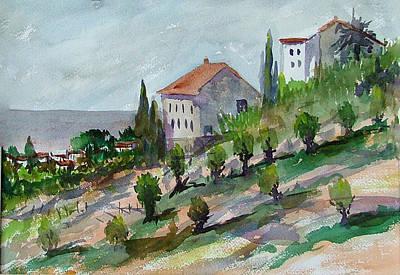 Painting - Olive Grove by Heidi Patricio-Nadon