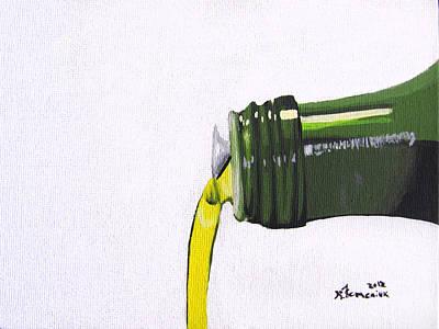 Olive Oil Art Print by Kayleigh Semeniuk