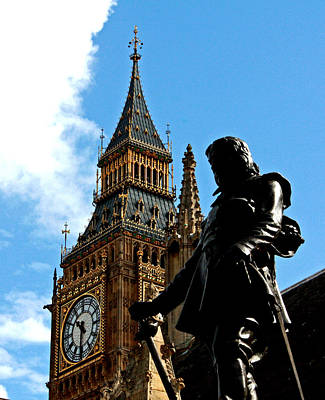 Photograph - Oliver Cromwell by Pat Moore