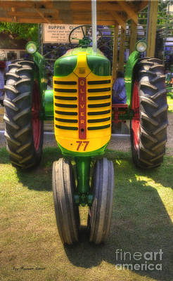 Art Print featuring the photograph Oliver Crop Row 77 by Trey Foerster