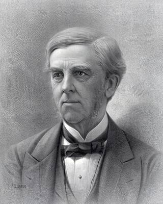 Oliver Wendell Holmes Sr.1809-94 Was An Art Print by Everett
