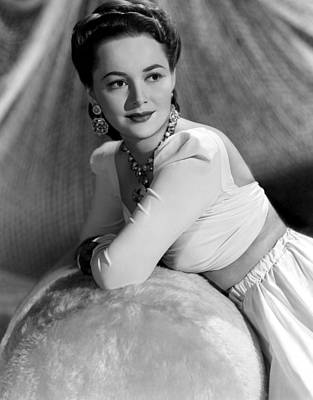 Olivia De Havilland, 1941 Art Print