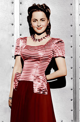 Incol Photograph - Olivia De Havilland, Ca. 1942 by Everett