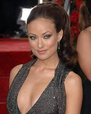 The 67th Annual Golden Globes Awards - Arrivals Photograph - Olivia Wilde At Arrivals For The 67th by Everett
