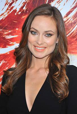 Olivia Wilde At Arrivals For The Next Art Print by Everett