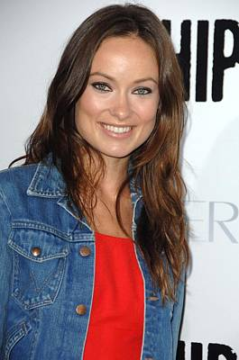 Olivia Wilde At Arrivals For Whip It Art Print