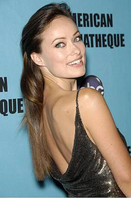 Olivia Wilde In Attendance For 24th Art Print