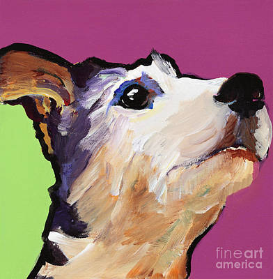 Painting - Ollie by Pat Saunders-White