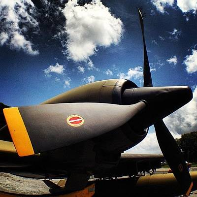 Jet Photograph - #olloclip #wideangle by Samantha J