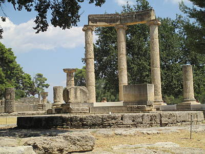 Design Pics - Olympia Greece by Elaine Haakenson